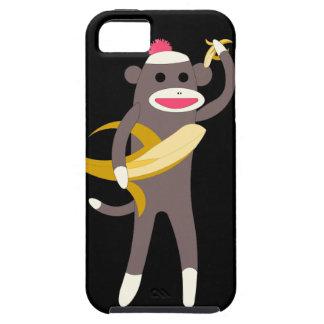 バナナの剣を持つソックス猿 iPhone SE/5/5s ケース