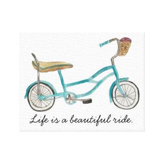 バナナの座席バイクのキャンバス キャンバスプリント