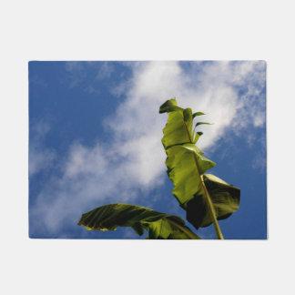 バナナの木の葉 ドアマット