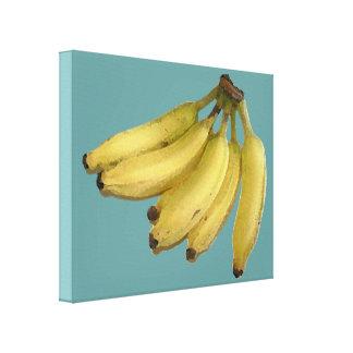 バナナの束 キャンバスプリント