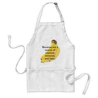 バナナの源のビタミンの鉱物繊維のエプロン スタンダードエプロン