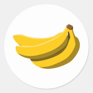 バナナの狂気! ラウンドシール