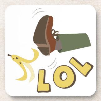 バナナの皮LOL コースター