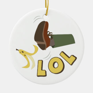 バナナの皮LOL セラミックオーナメント
