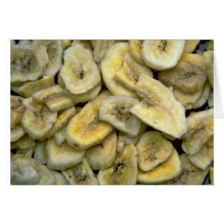 バナナの破片 カード