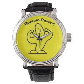 バナナの腕時計 腕時計
