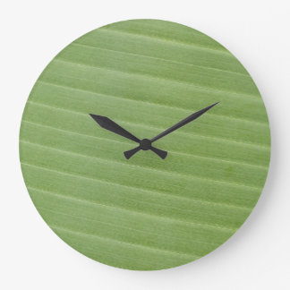 バナナの葉の質 ラージ壁時計