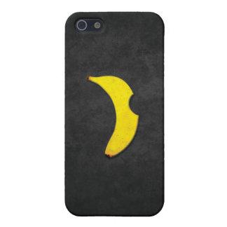 """バナナの""""りんご""""のロゴのiphoneの場合 iPhone 5 cover"""