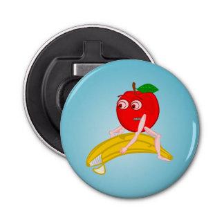 バナナをまっすぐにする整骨療法家のフルーツおもしろいなApple 栓抜き