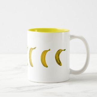 バナナスケートボード ツートーンマグカップ