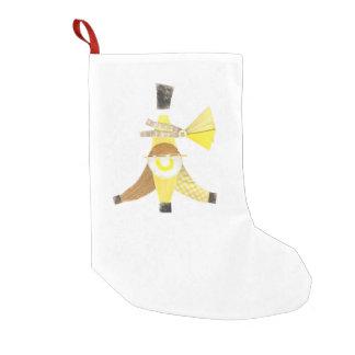 バナナスプリットのストッキング スモールクリスマスストッキング