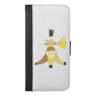 バナナスプリットの私電話6/6sウォレットケース iPhone 6/6s plus ウォレットケース