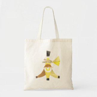 バナナスプリット背景のバッグ無し トートバッグ