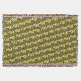 バナナパターン スローブランケット
