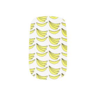 バナナパターン ネイルアート
