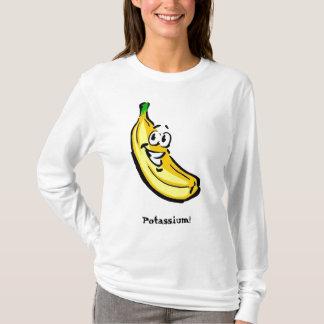 バナナ、カリウム! Tシャツ