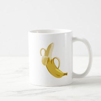 バナナ コーヒーマグカップ
