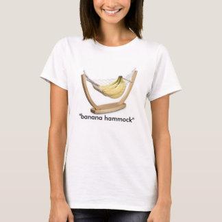 """バナナ、""""バナナハンモック"""" Tシャツ"""