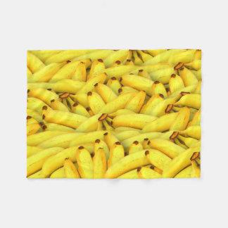 バナナ フリースブランケット