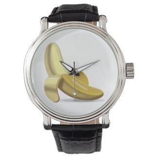バナナ- Emoji 腕時計