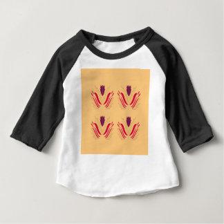 バニラのデザインの曼荼羅 ベビーTシャツ