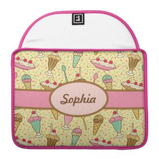 バニラアイスクリーム MacBook PROスリーブ
