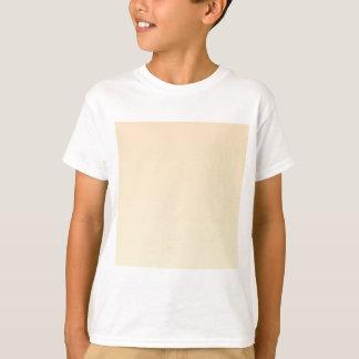 バニラ横の勾配への深いシャンペン Tシャツ