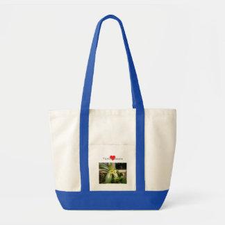 バニラ花のトートバック トートバッグ