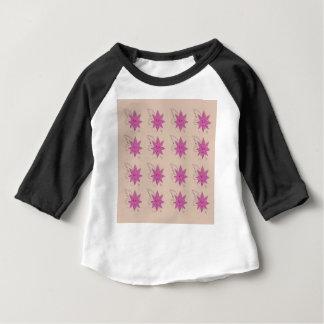 バニラethnoの夏のはすの花 ベビーTシャツ