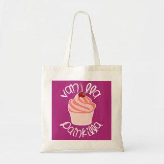 バニラPainkilla |のユーモアのあるなカップケーキ|の習慣 トートバッグ
