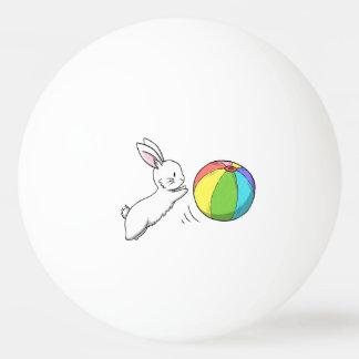 バニーおよび球 卓球ボール