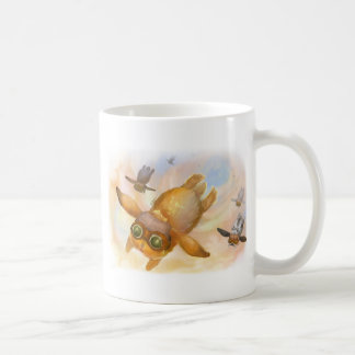 バニーのはえのはえのはえ コーヒーマグカップ