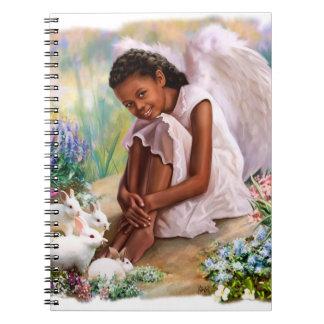 バニーのギフトのノートとの少しアフリカの天使 ノートブック