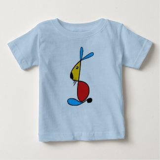 バニーの乳児のTシャツ ベビーTシャツ