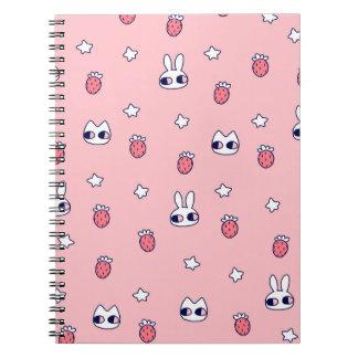 バニーの果実のノート ノートブック