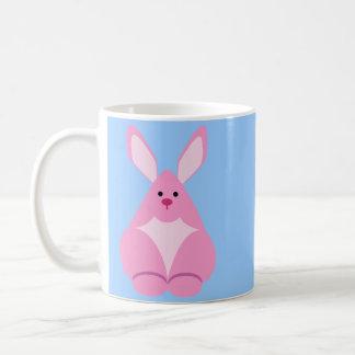 バニーの監視 コーヒーマグカップ