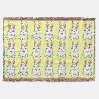 バニーの総括的なイースターのウサギのウサギのブランケット スローブランケット
