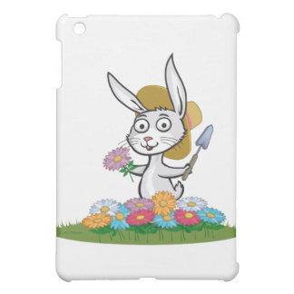 バニーの花の庭師 iPad MINIケース