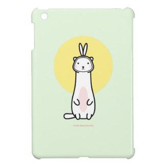 バニーの衣裳のiPad Miniケースのかわいいフェレット iPad Miniケース