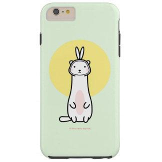バニーの衣裳のiPhone 6のプラスの場合のかわいいフェレット Tough iPhone 6 Plus ケース