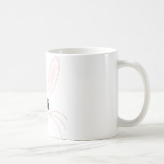 バニーの顔 コーヒーマグカップ