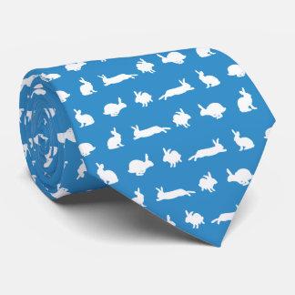 バニーのHuggerのタイ(青い) オリジナルネクタイ