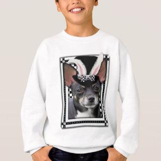バニーは-チワワ愛します スウェットシャツ