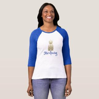 バニーを熟視する星 Tシャツ