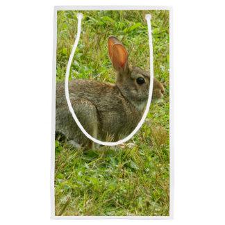 バニーウサギのギフトバッグ スモールペーパーバッグ