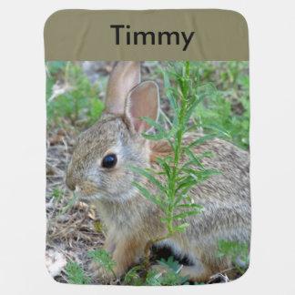 バニーウサギのベビーブランケット ベビー ブランケット