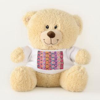 バニーウサギのワイシャツのかわいいテディー・ベア テディベア