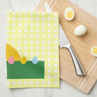 バニーウサギの台所タオルをかいま見ること キッチンタオル