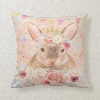 バニーウサギのBohoの森林女の子の子供部屋の枕 クッション