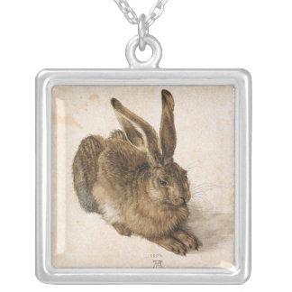 バニーウサギ シルバープレートネックレス